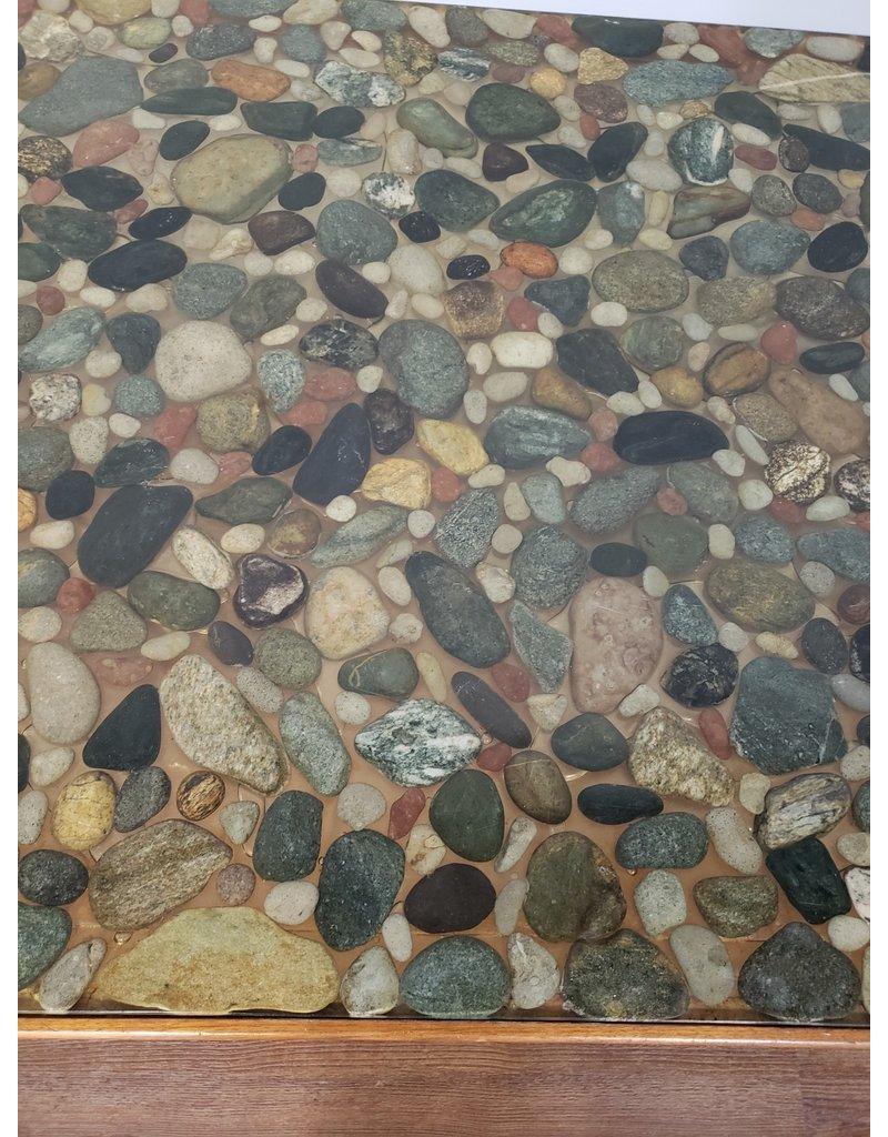 Woodbridge Custom Epoxy / River Rock Coffee Table