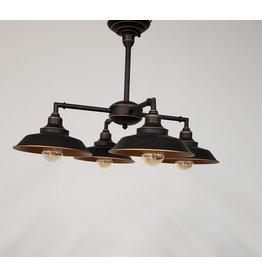 Woodbridge 4 Light Chandelier/Semi-Flush