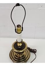 North York Brass Shadeless Lamp