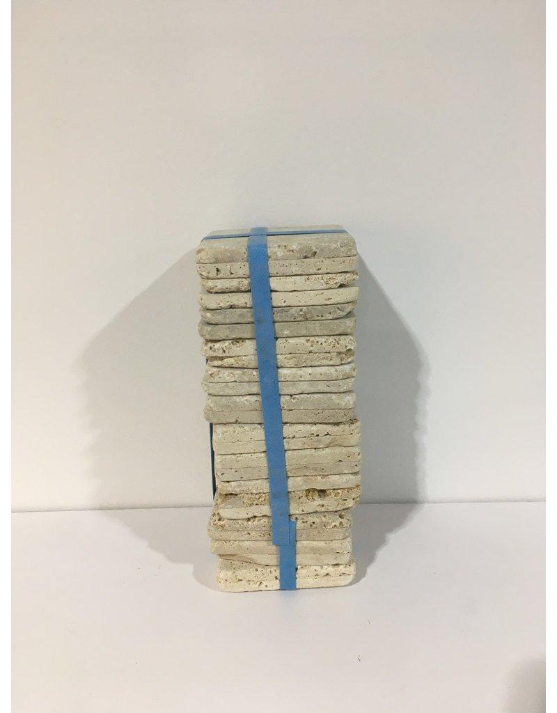 """Etobicoke 4"""" x 4"""" Travertine Limestone Tiles"""