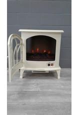 Brampton Cream Electric Fireplace