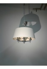 Woodbridge Chrome Finish Chandelier with Shade