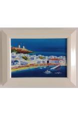 Vaughan Framed Original Euro Seascape Painting