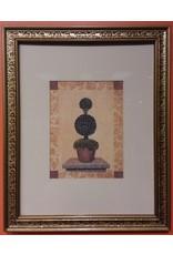 Vaughan Framed Original Plant Painting