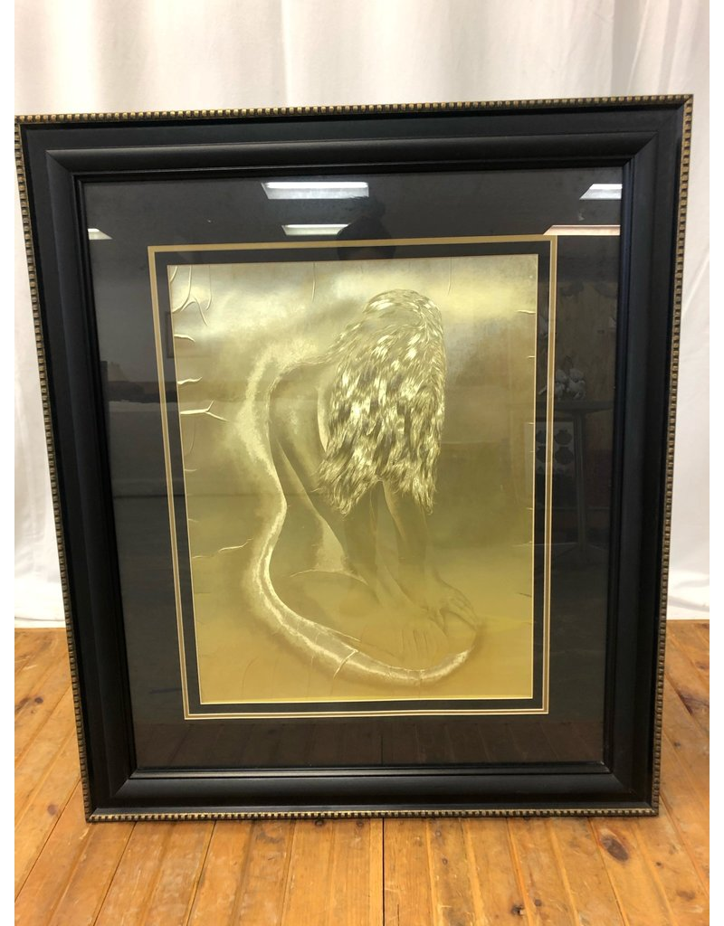 Scarborough Gold Foil Artwork