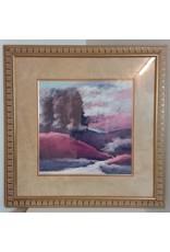 """Vaughan 30"""" x 30"""" Framed Abstract Art Print"""