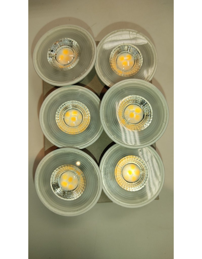 Woodbridge 50W Equivalent Bright White (3000K) gu10 Dimmable LED Flood Light Bulb (6-Pack)