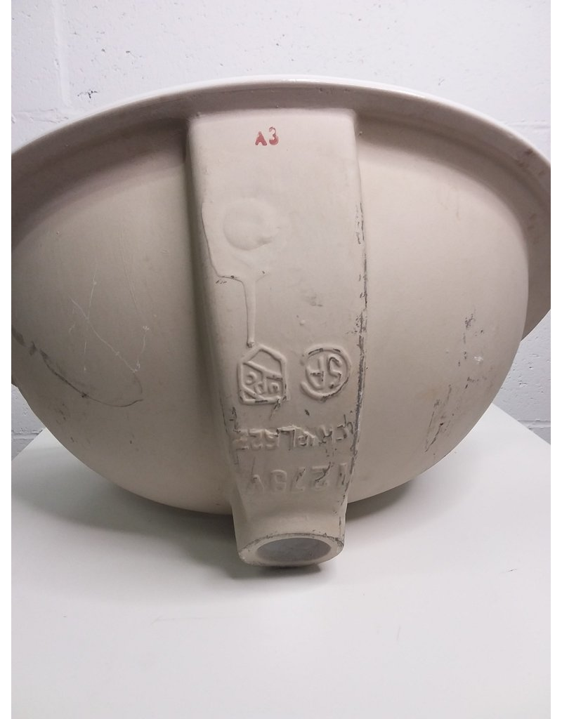North York Ceramic Drop-in Sink with 3 holes