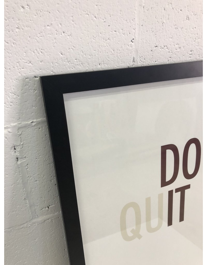 North York Don't Quit Wall Art