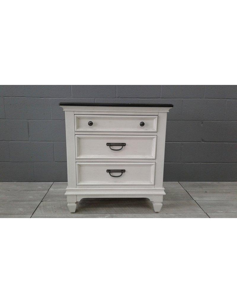 Brampton 3-Drawer Side Table