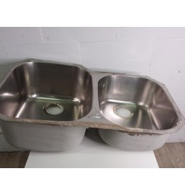 North York Stainless Steel double sink