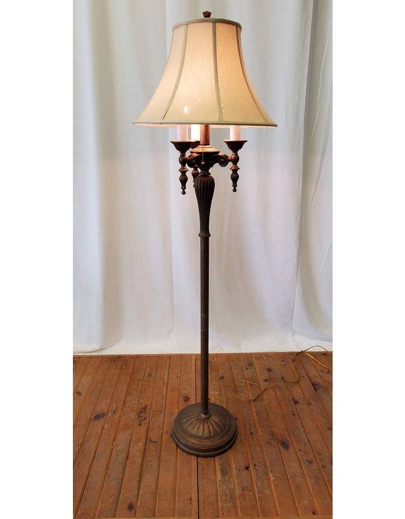 Scarborough Antique style floor lamp