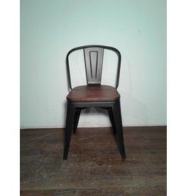 Woodbridge Metal & Brown Wood  Dining Chair