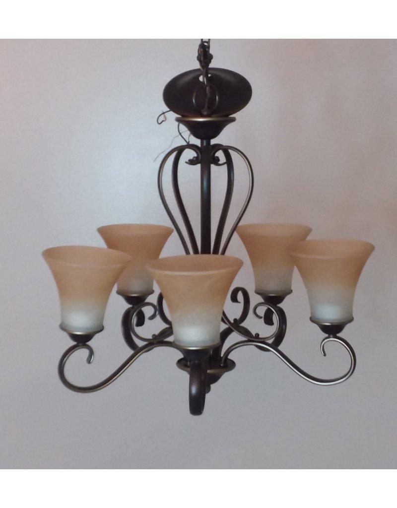 Vaughan Bronze chandelier