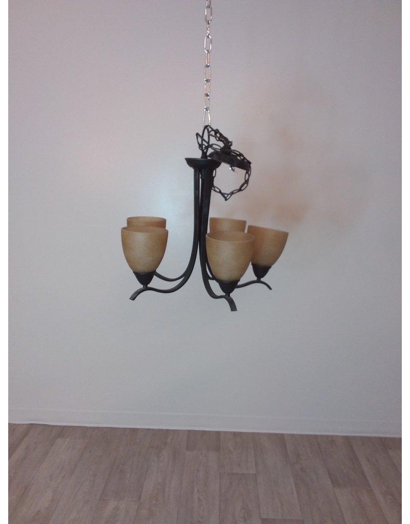 Vaughan Black chandelier