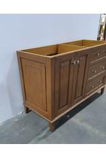"""Etobicoke 54"""" Vanity Cabinet in Brown"""