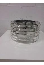 North York Glass Crystal Light Fixture