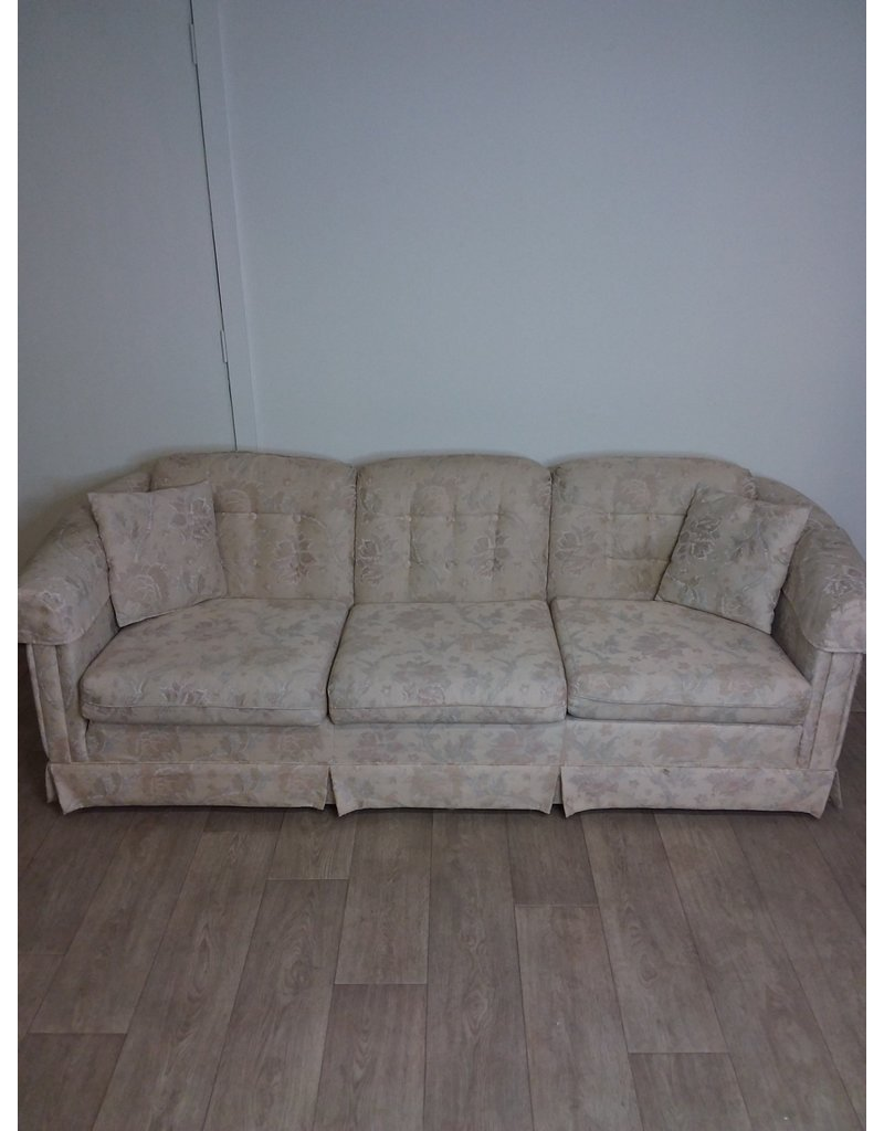 Studio District Beige Floral Sofa