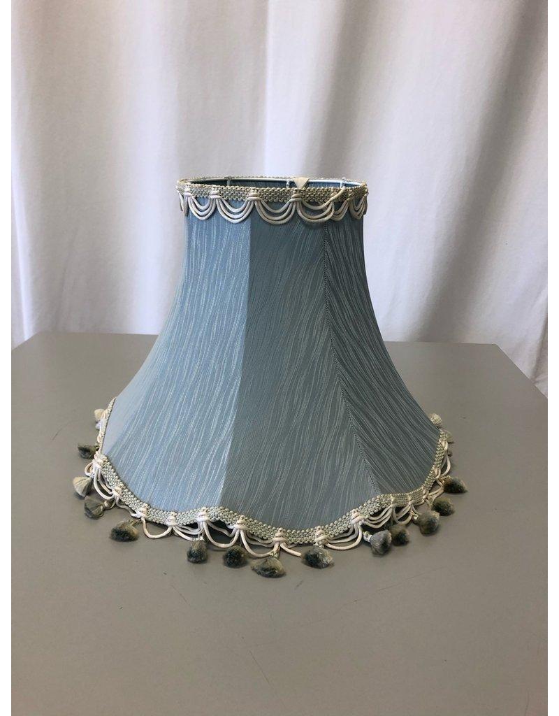 Scarborough Blue Scalloped Shade