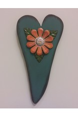 Vaughan Abstract Heart Flower Hanging