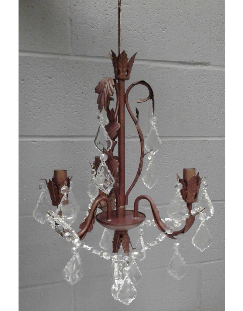 Brampton Heritage 3-Light Chandelier