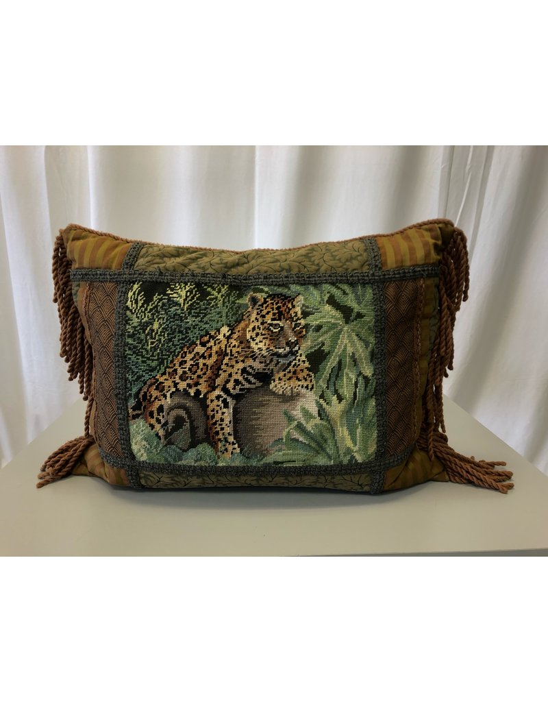 Scarborough Cheetah Pillow