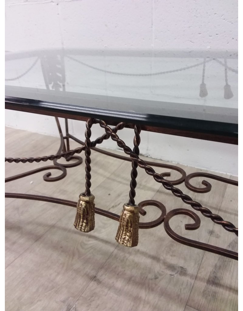 North York Glass top Coffee Table