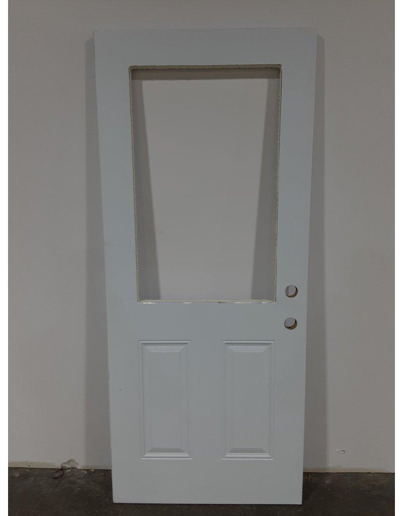 "Etobicoke Aluminum Clad Insulated Door 33-3/4"" x 79"""