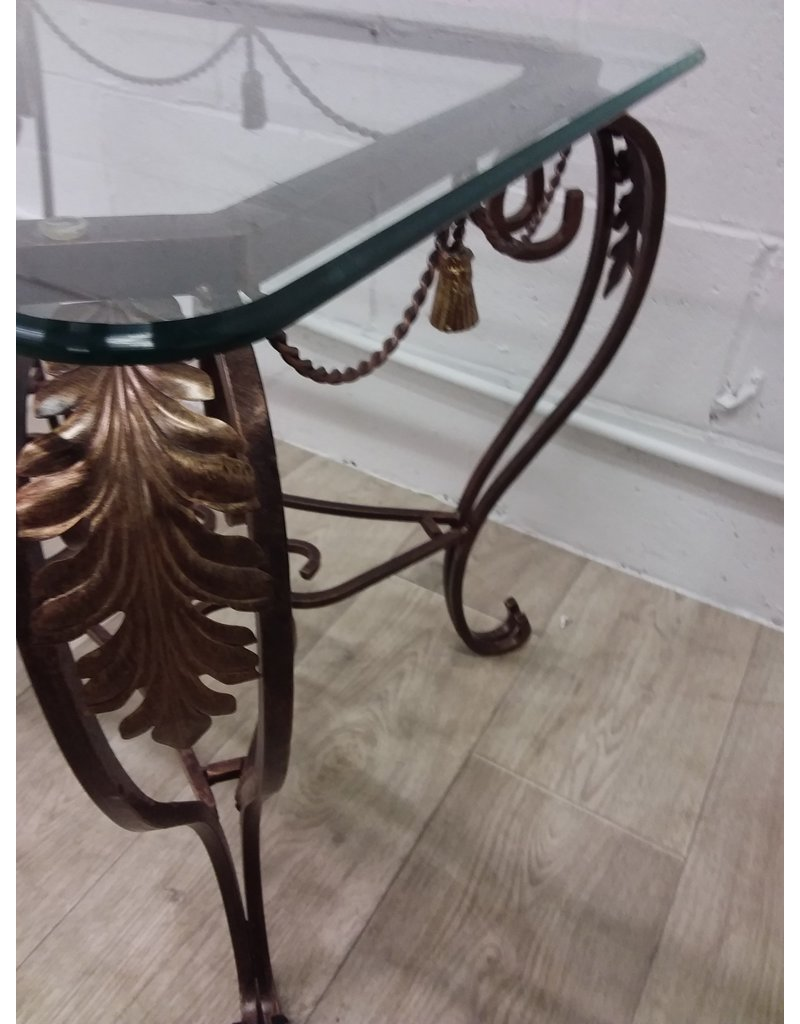 North York Glass side table