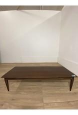 Oshawa Dark Solid Wood Coffee Table
