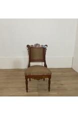 Oshawa Antique Burgundy Wooden Chair