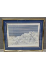 Brampton Arctic Fox Painting