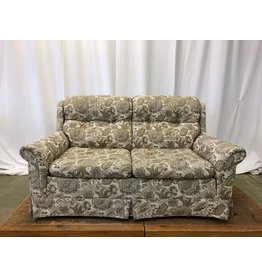 Scarborough Taupe Floral Loveseat