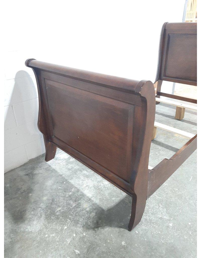 Etobicoke Brown Wood Bed Frame