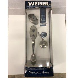 North York Weiser Welcome Home Door Handle & Lock