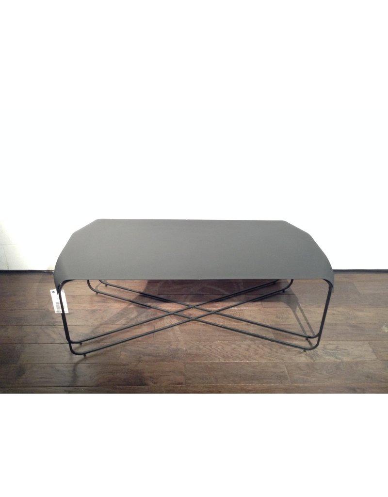 Uxbridge Black Metal Coffee Table