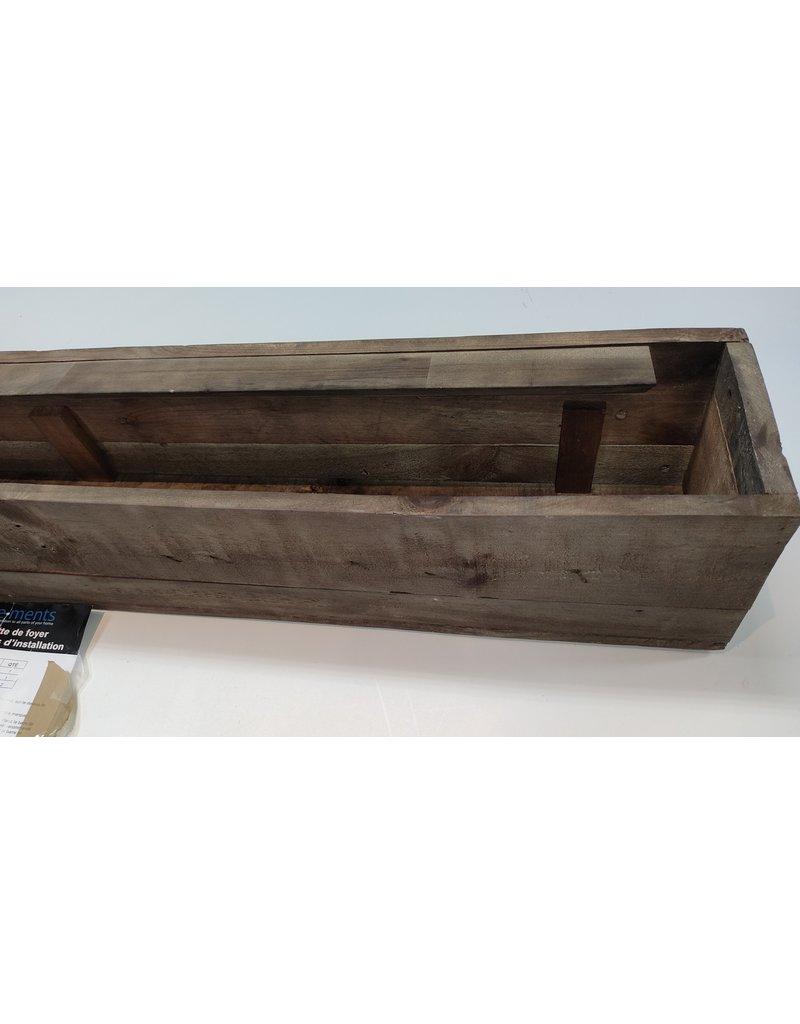 Woodbridge Rustic Mantel Shelf - Brown - 45-in