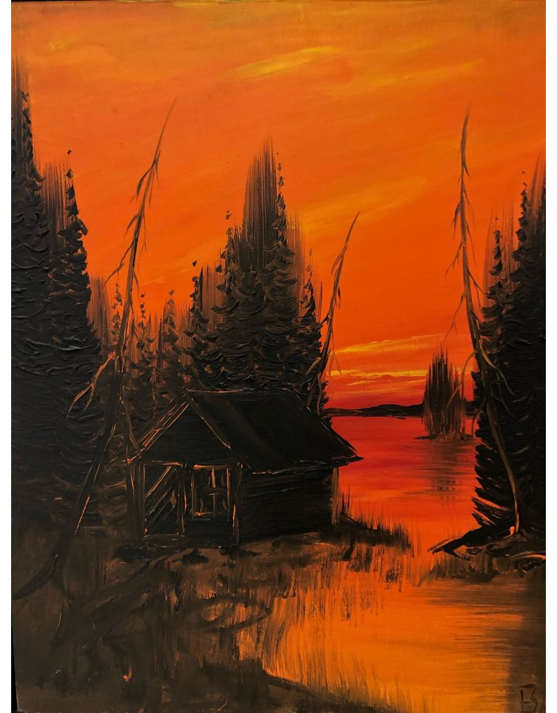 Scarborough Cabin Painting