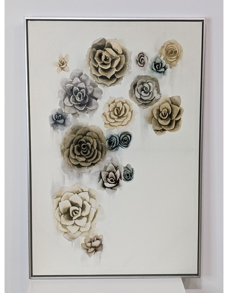 Newmarket Flower Canvas Art