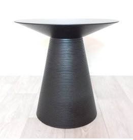 "Vaughan Black 20"" Anika Side Table"