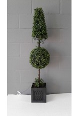 Brampton Artificial Boxwood Topiary with Lights