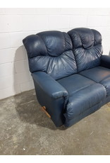 Etobicoke Blue Love Seat , Recliner