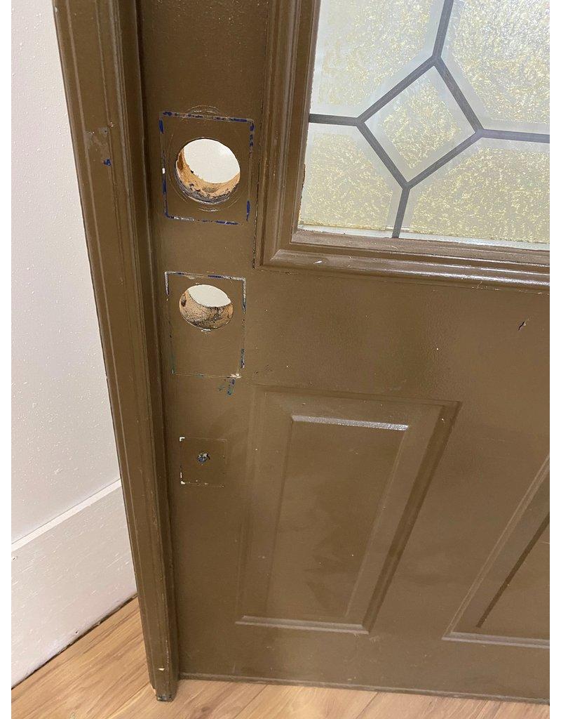 Oshawa Brown Exterior Door