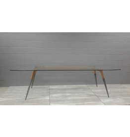 Brampton Dining Table with Glass Top