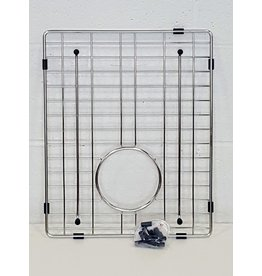 East York Stainless Steel Bottom Grid w/Protective Anti-Scratch Bumpers