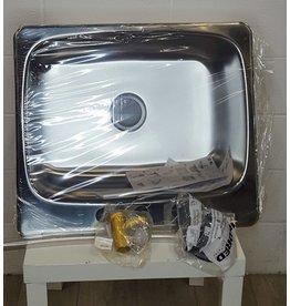 East York Stainless Steel single bowl sink