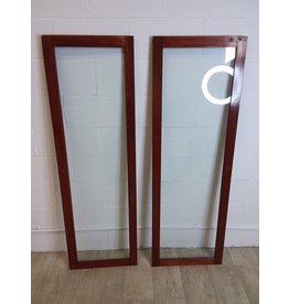 North York Glass Cabinet Door Set