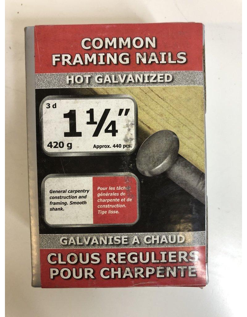 """North York 1-1/4"""" Common Framing Nails"""