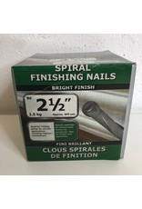 """North York 2.1/2"""" Spiral Finishing Nail"""