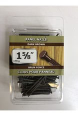 "North York 1-5/8"" Dark Brown Panel Nails"